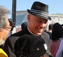 Archbishop Cordileone at the Walk for Life West Coast