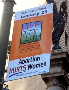 2014 Walk For Life West Coast banner